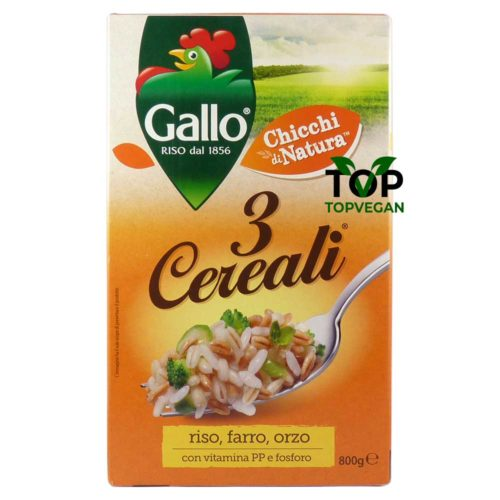 Gallo 3 cereali orzo farro riso