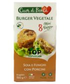 burger vegetale soia e funghi