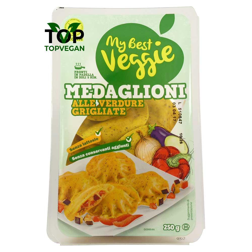 medaglioni vegani ripieni di verdura my best veggie