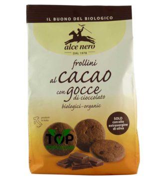 frollini la cacao gocce cioccolato alce nero