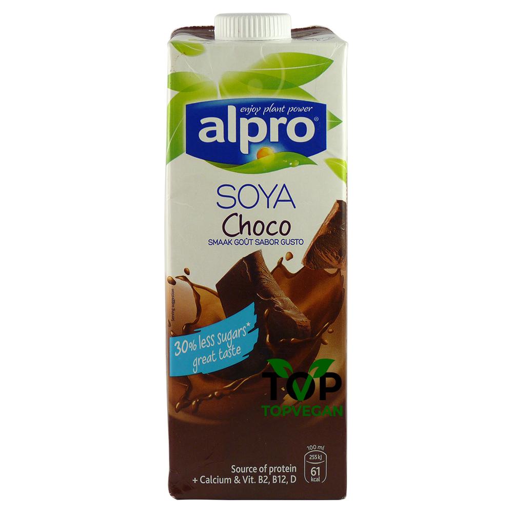 latte di soia cioccolato alpro