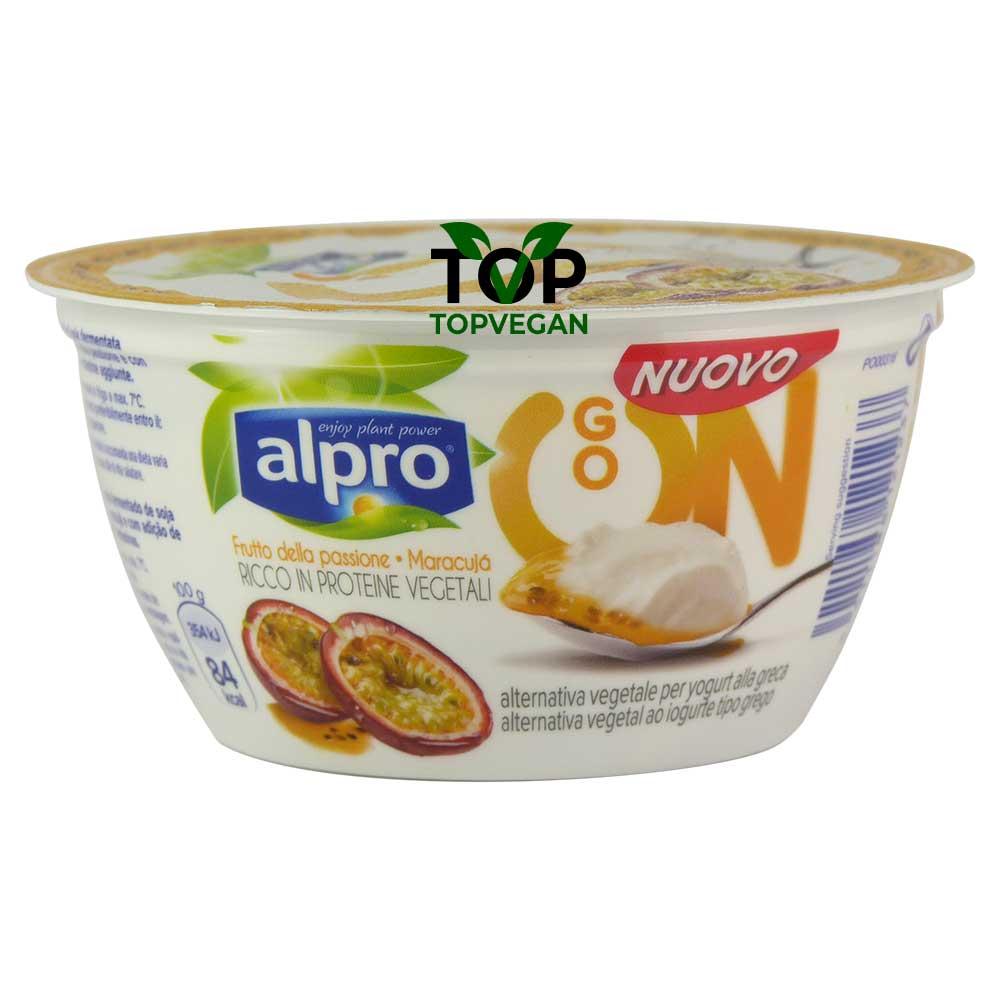 yogurt greco vegano frutto della passione