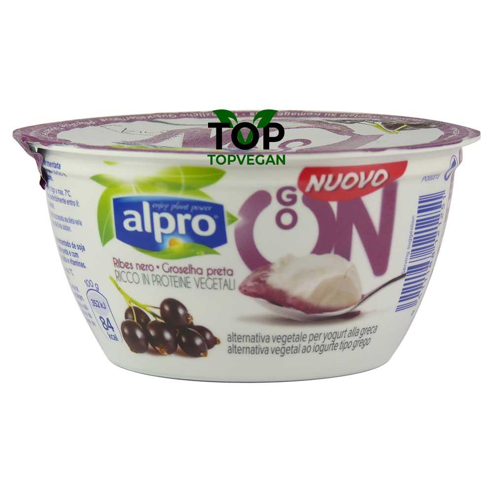 yogurt vegano greco al ribes nero alpro
