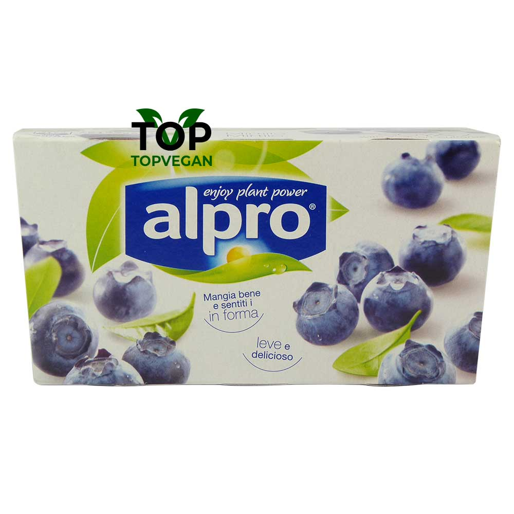 yogurt di soia ai mirtillo alpro