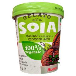 gelato soia cioccolato auchan