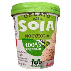 gelato vegan soia nocciola auchan