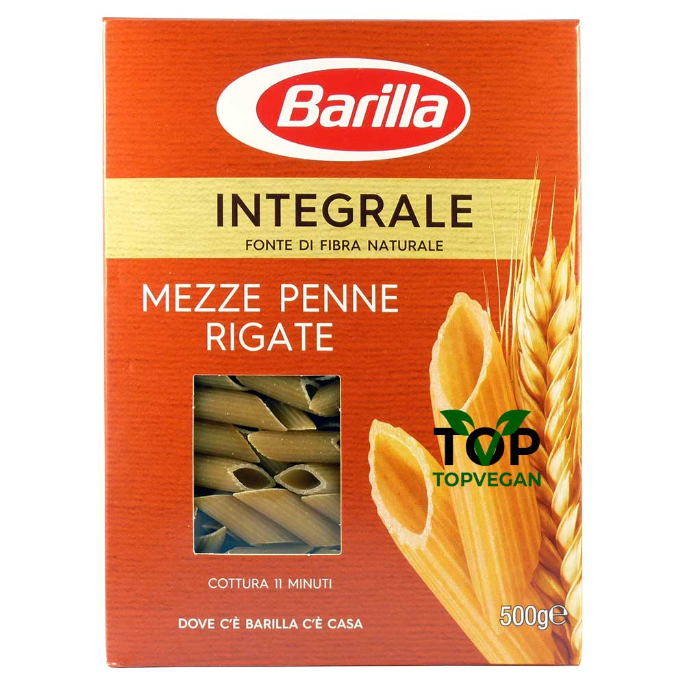 pasta vegana penne rigate barilla