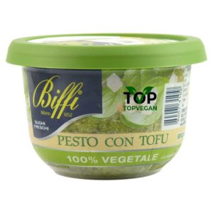 pesto vegano con tofu di biffi