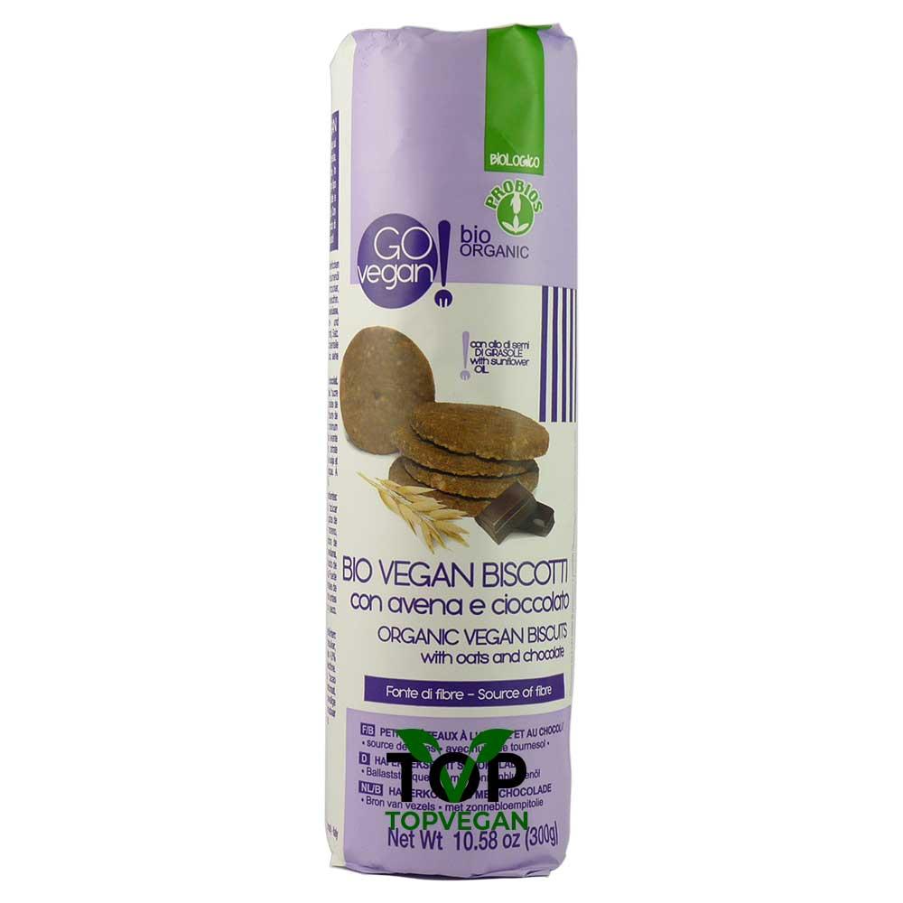 bio vegan biscotti avena cioccolato
