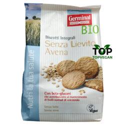 biscotti vegani avena senza lieto germinal