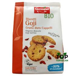biscotti vegani ai goji germinal