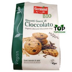 biscotti vegani germinal gocce cioccolato 2019