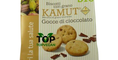 biscotti vegani gocce cioccolato germinal