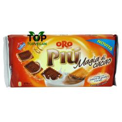 oro piu magia di cacao saiwa biscotti vegan