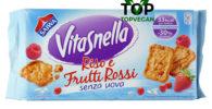 biscotti vegani vitasnella riso frutti rossi