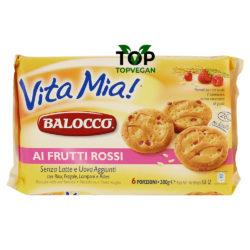 biscotti vegani balocco vita mia frutti rossi