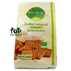 biscotti vegani integrali vivi verde coop