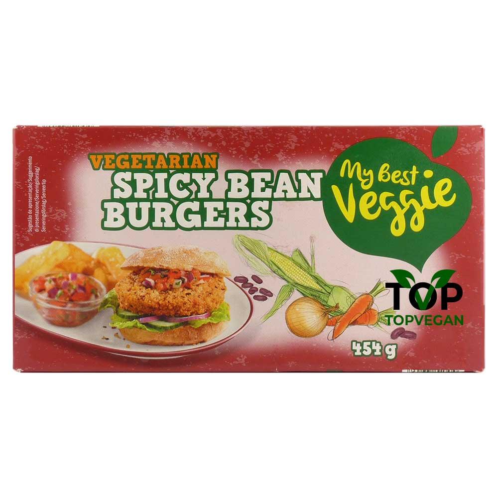 burger speziati ai fagioli my best veggie