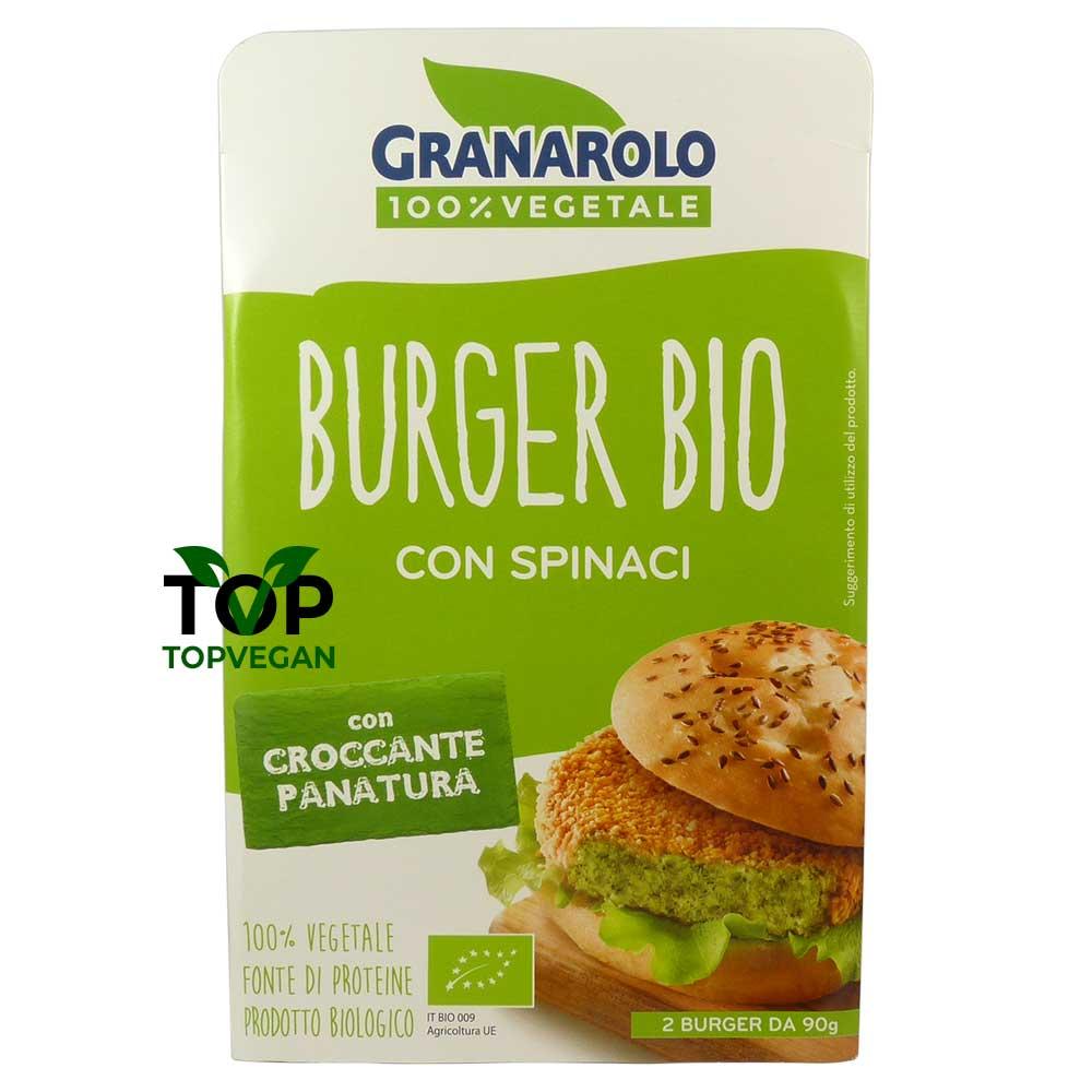 burger spinaci granarolo