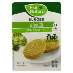 burger vegan broccoli fior di natura