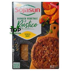 burger vegano il rustico di sojasun