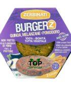 burger vegani zerbinati quinoa melanzane pomodoro