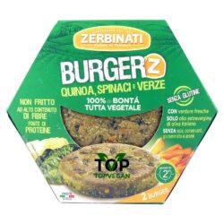 burger vegetali zerbinati quinoa spinaci verze