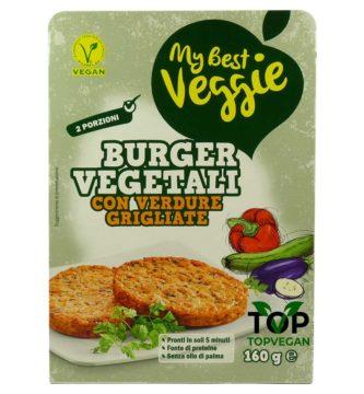 Burger vegetali verdure grigliate my best veggie