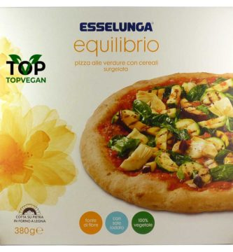 pizza vegana verdura cereali esselunga