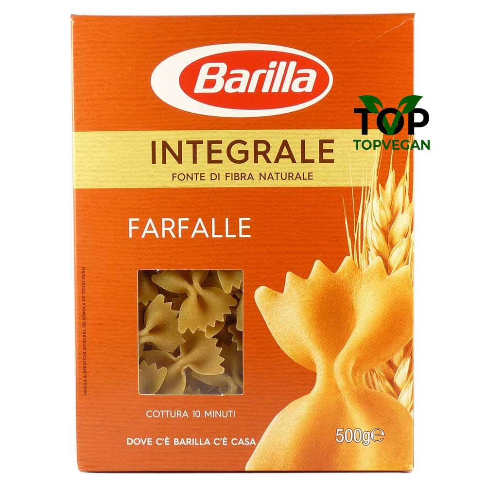 farfalle integrale vegane barilla