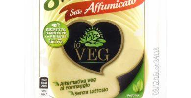 8 fettine vegane formaggio affumicato io veg