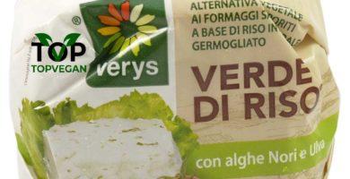 formaggio verde riso vegano verys