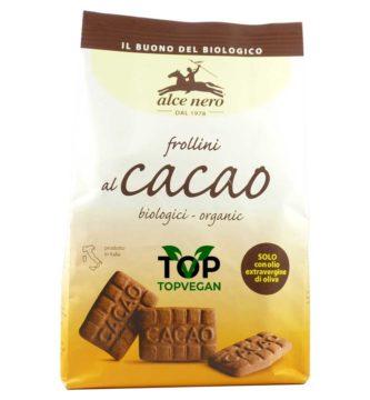 frollini vegani al cacao di Alce nero