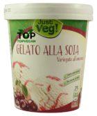 gelato vegan alla amarena just veg