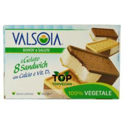 gelato vegetale sandwich 8 valsoia