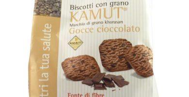 biscotti vegan di kamut e cioccolato germinal