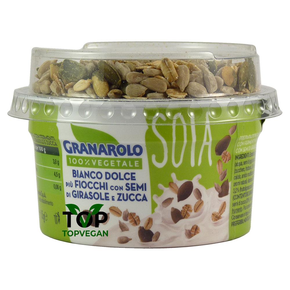 yogurt di soia semi girasole e zucca granarolo