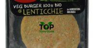 burger vegano di lenticchie enorme il melograno