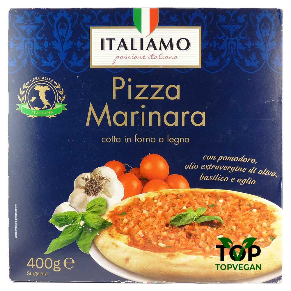 pizza vegana marinara surgelata italiamo