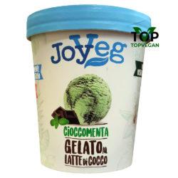 gelato vegano joy veg cioccomenta