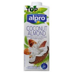 latte vegano di cocco e mandorla alpro