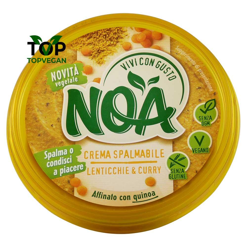 crema spalmabile lenticchie curry Noa