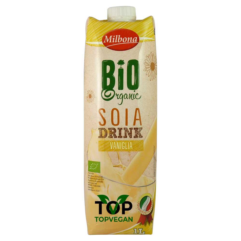 latte soia vaniglia milbona