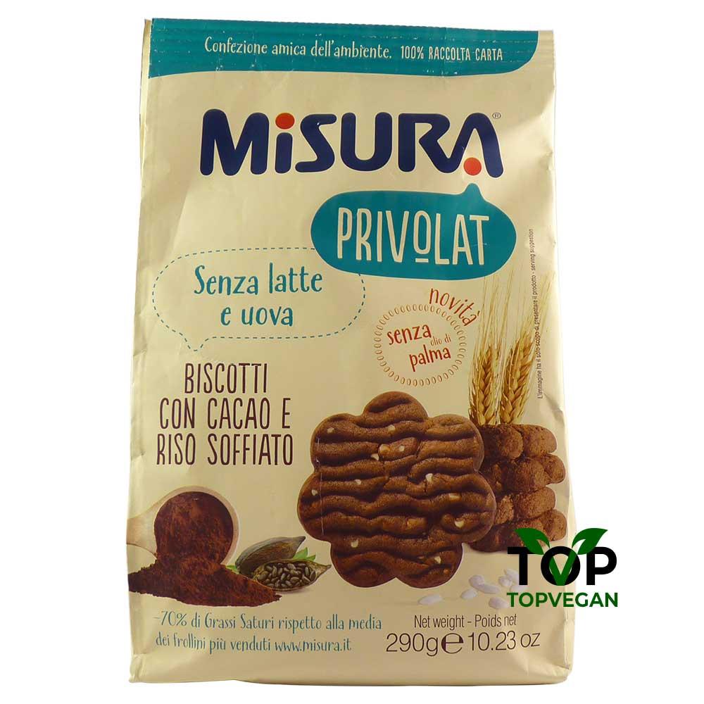 biscotti misura privolat cacao riso
