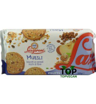 muesli biscotto vegan ai cereali lazzaroni