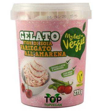 gelato di soia alla amarena my best veggie