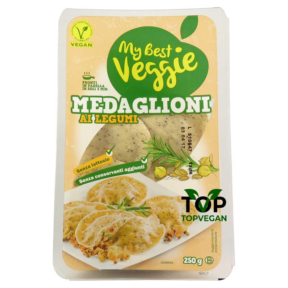 medaglioni ai legumi my best veggie
