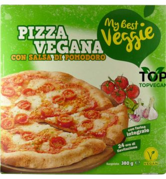 pizza vegana margherita my best veggie