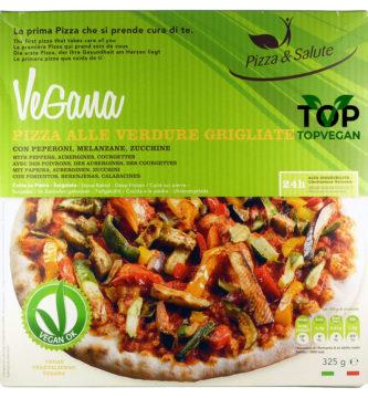 pizza vegana surgelata verdure grigliata & salute