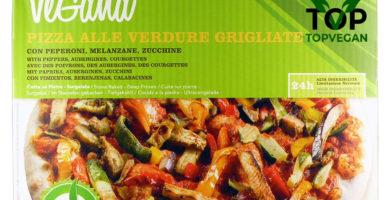 Pizza vegana surgelata vegana